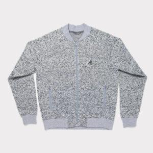 Pilkas vyriškas megztinis - Bomberis