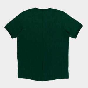 """Žali prailginti vyriški laisvalaikio marškinėliai """"Lietuva"""""""
