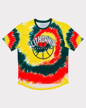 Spalvoti marškinėliai - Lithuania basketball