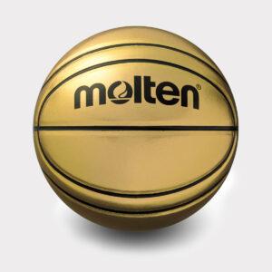 Auksinis suvenyrinis krepšinio kamuolys Molten BG-SL7