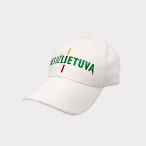 "Balta kepurė ""Mes už Lietuvą"""