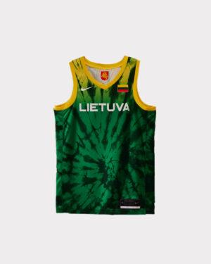 Žali žaidybiniai Nike marškinėliai