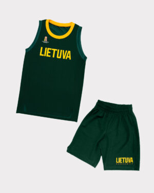 Vaikiški žali šortai ir marškinėliai