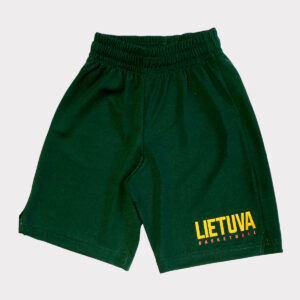 Children's green shorts